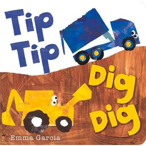 Sterling Publishing Tip Tip Dig Dig - Board Book