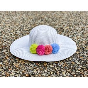Appaman Pom Pom Hat White