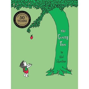 Harper Collins The Giving Tree (CD Inside) - Hardcover Book