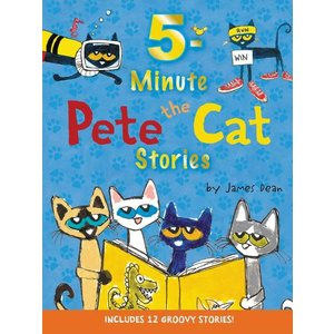 Harper Collins Pete the Cat 5 Minute Stories - Hardcover Book