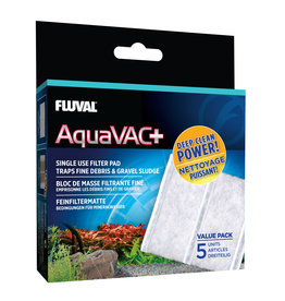 Fluval Fluval Aquavac+ Replacement Fine Filter Pad (5 Pack)