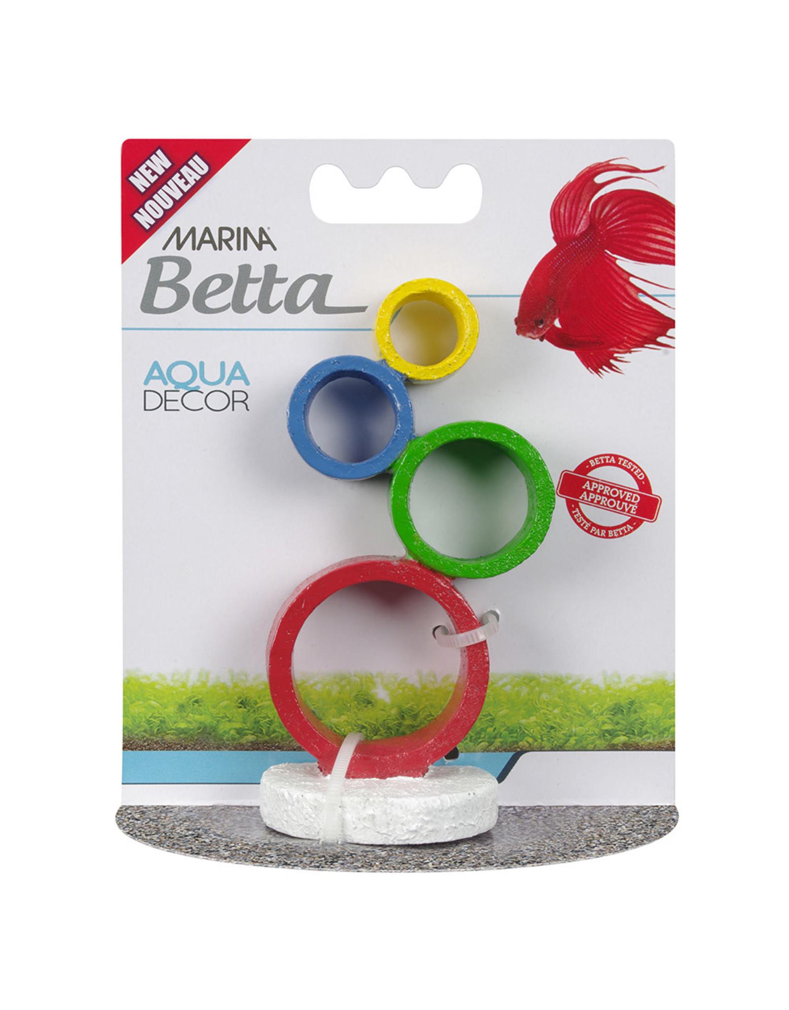 Marina Marina Betta Aqua Decor Ornament - Circus Rings