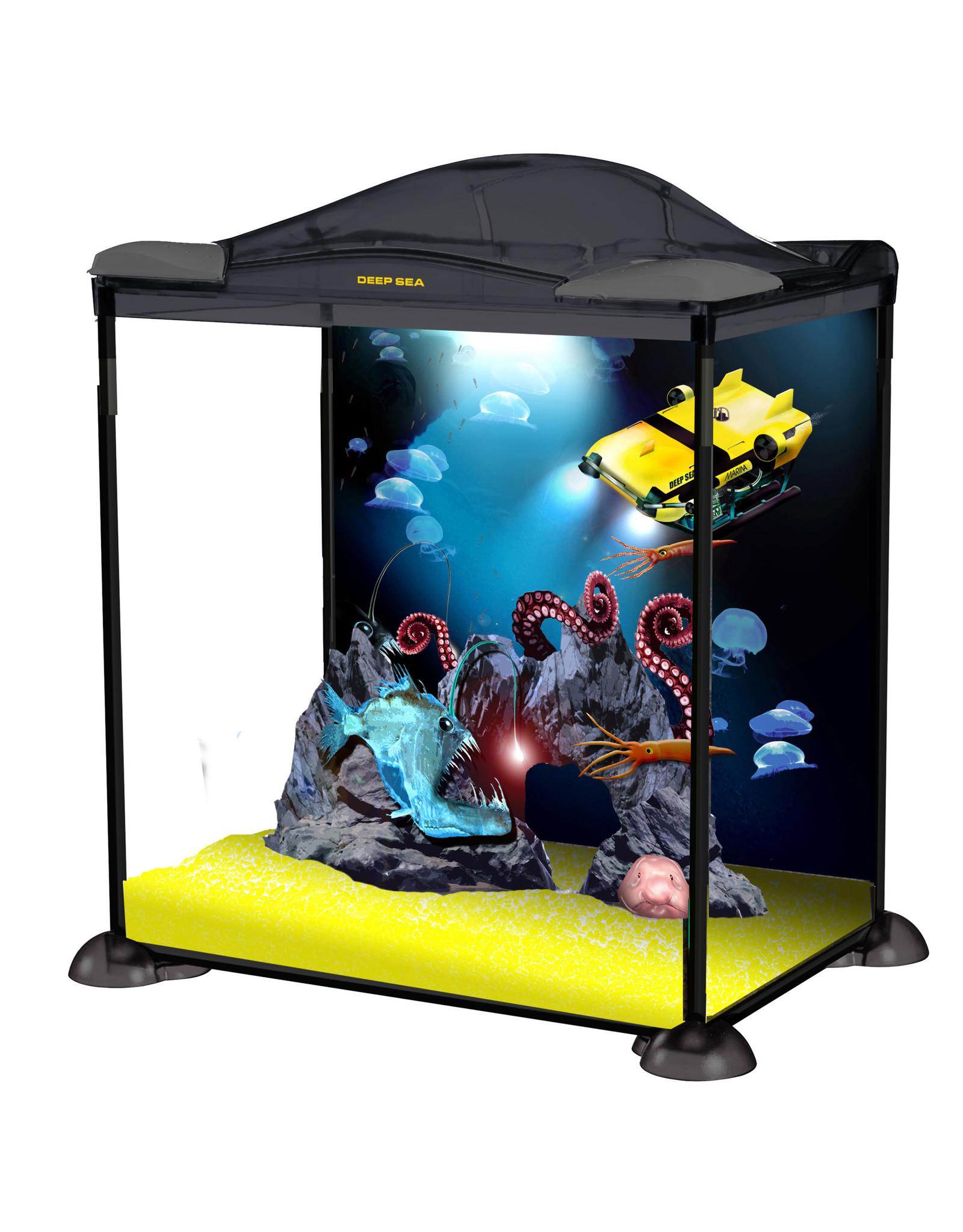 Marina Marina Deep Sea Explorer Aquarium Starter Kit - 17 L (4.5 US gal)