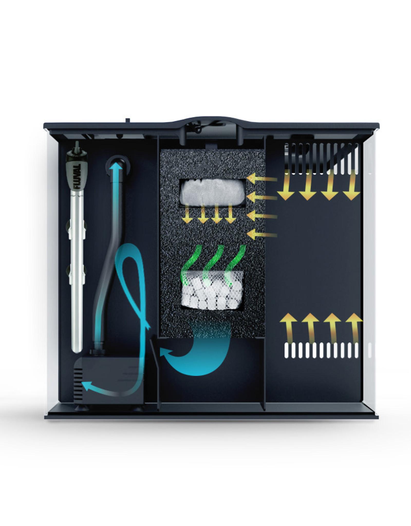 Fluval Fluval FLEX Aquarium Kit - Black 34 L (9 US gal)