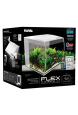 Fluval Fluval Flex Aquarium Kit - 34 L (9 US gal) - White