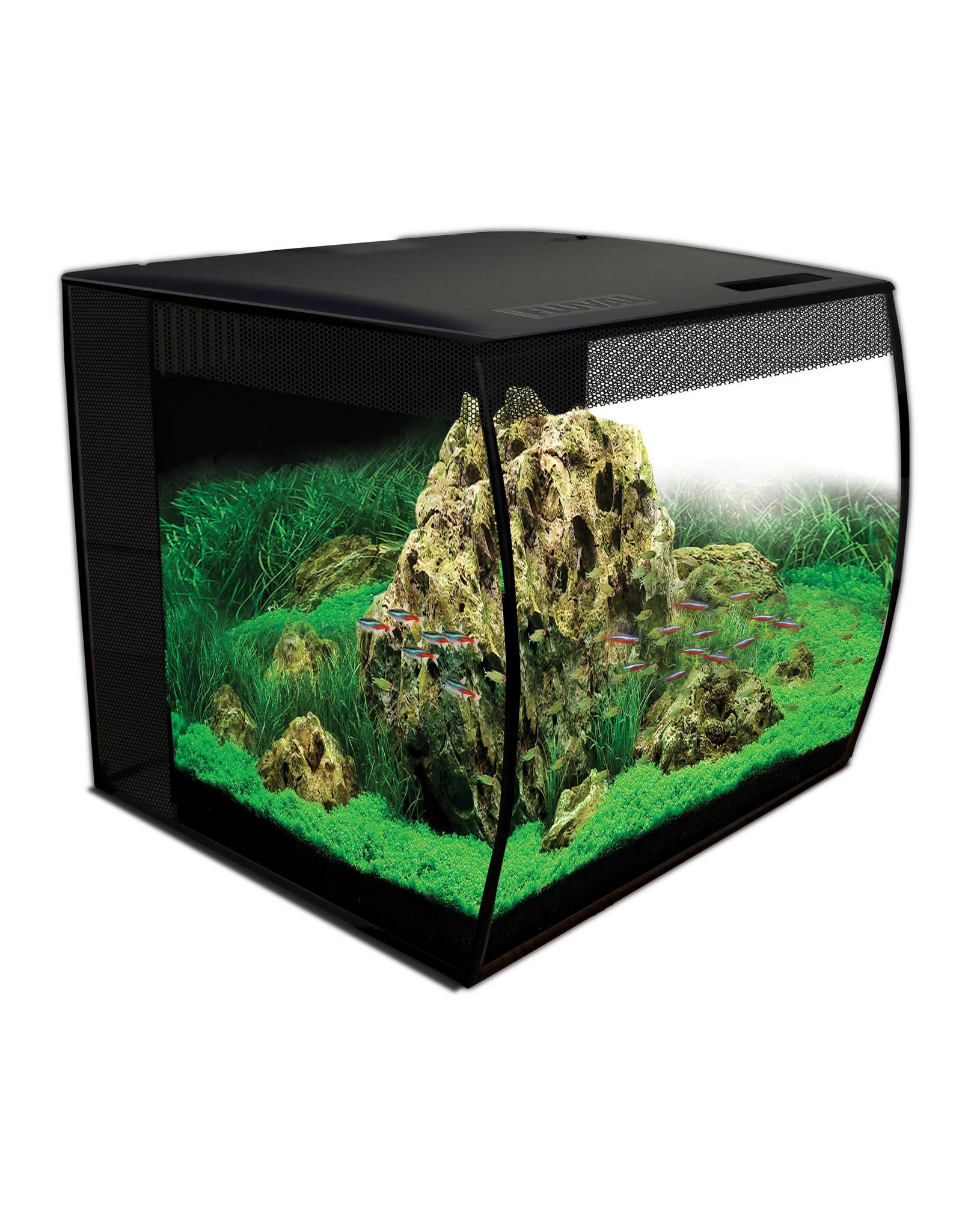 Fluval Fluval FLEX Aquarium Kit - 57 L (15 US gal) Black