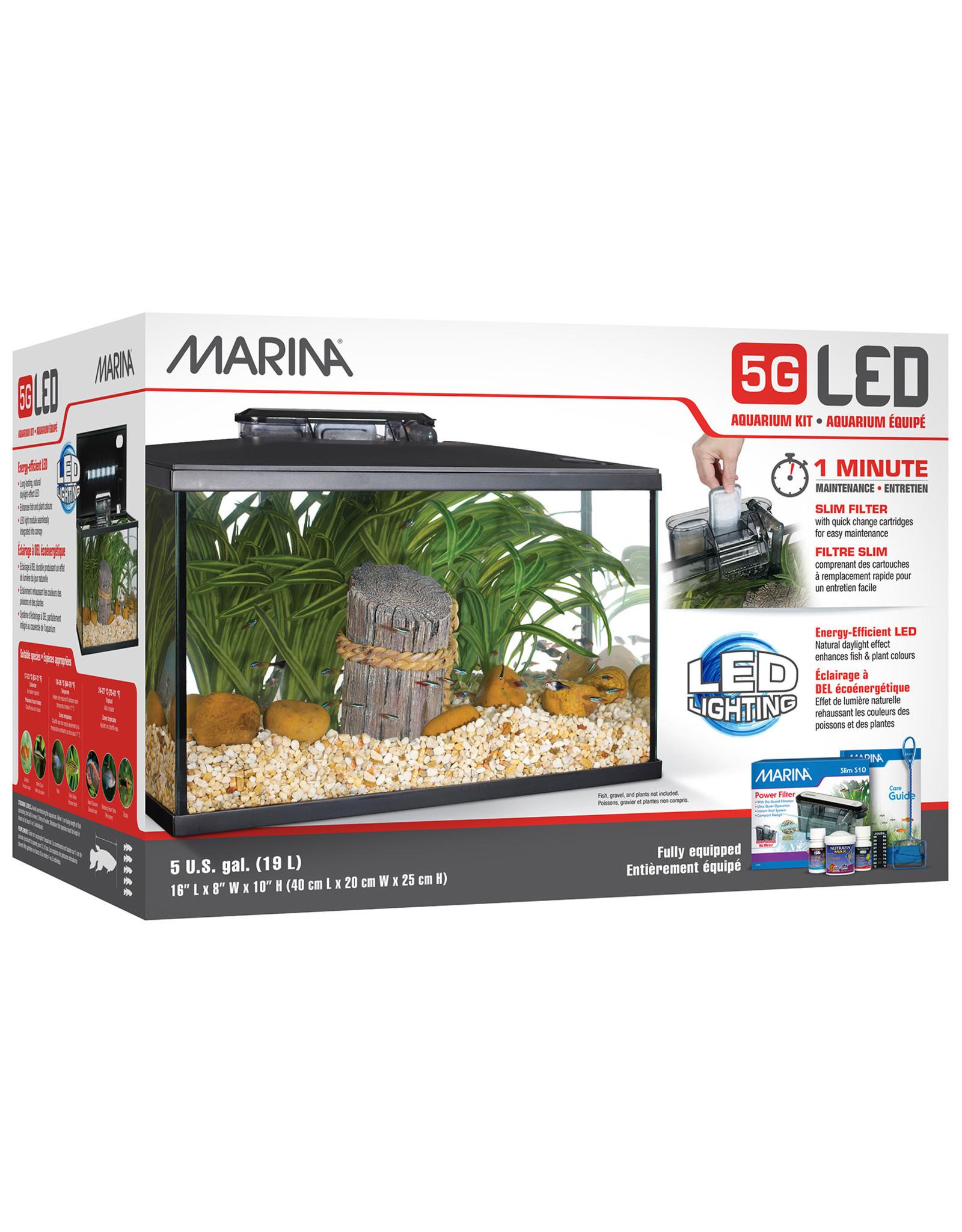 Marina Marina 5G (5 Gal.) LED Aquarium Kit