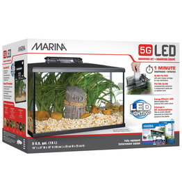 Marina Marina 5G (5 Gal.) LED Aquarium Kit