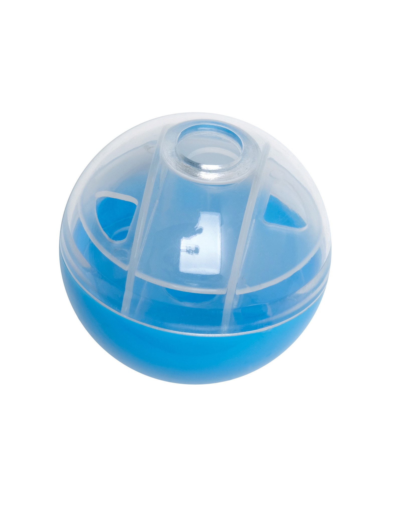 Cat Love Furry Frolics Blue Treat Ball