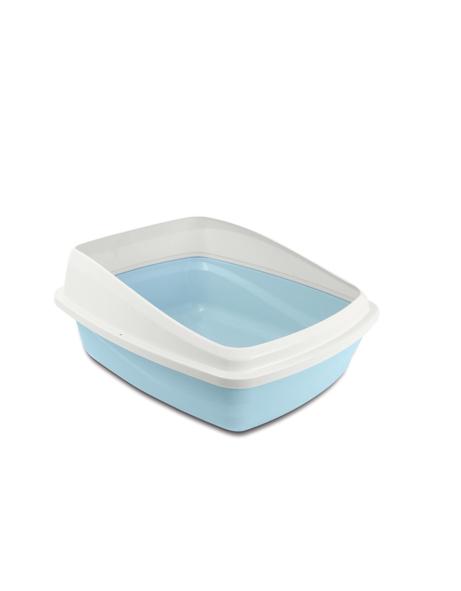 CatIt Cat Pan with Removable Rim Medium Blue/Grey
