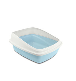 Cat Love Cat Pan with Removable Rim Medium Blue/Grey