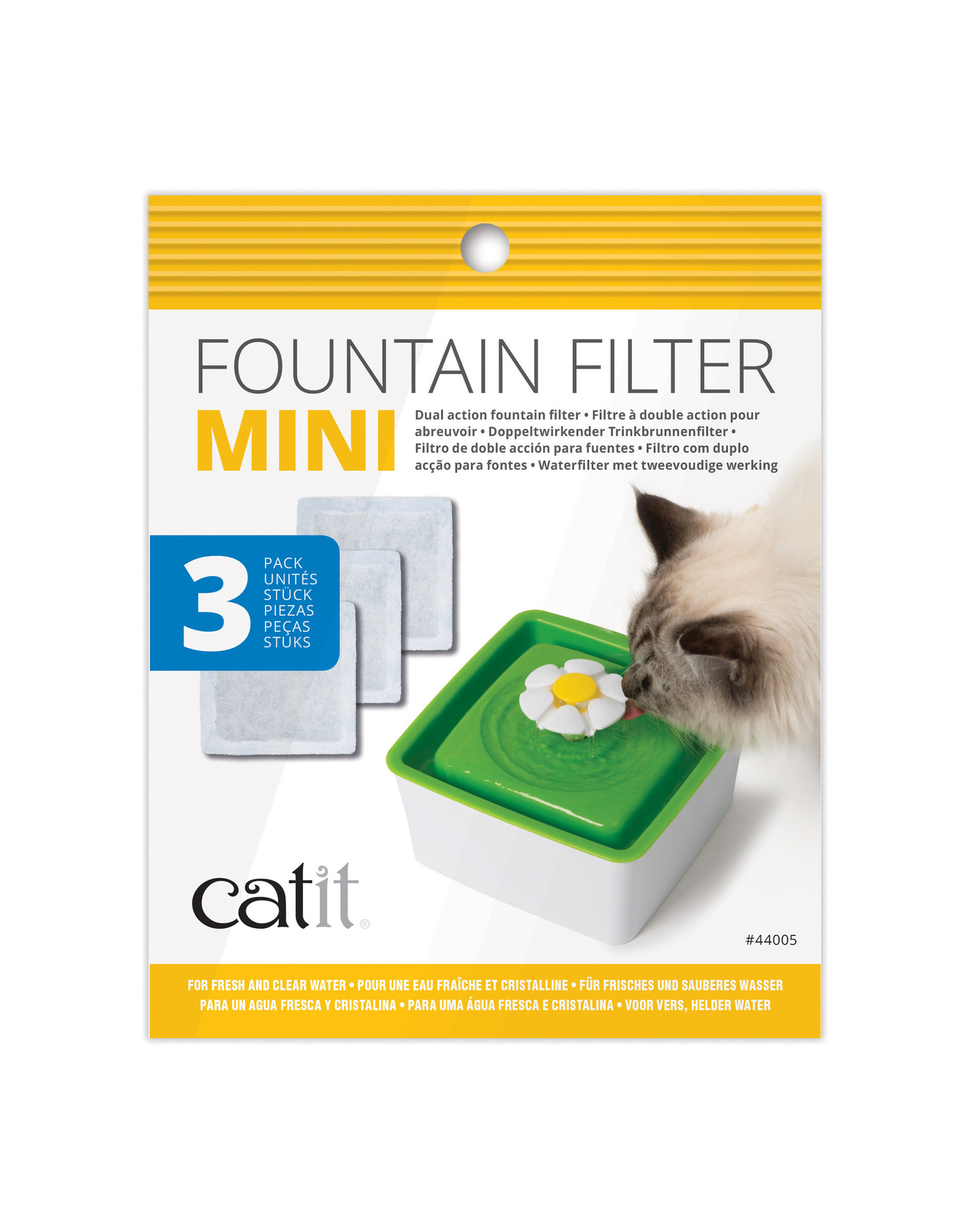 CatIt Mini Fountain Filters 3 Pack