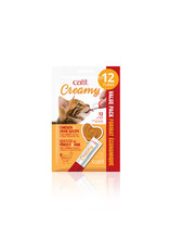 CatIt Creamy Lickable Cat Treat Chicken & Liver 12 Pack