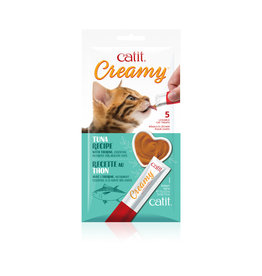CatIt Creamy Lickable Cat Treat Tuna 5 Pack