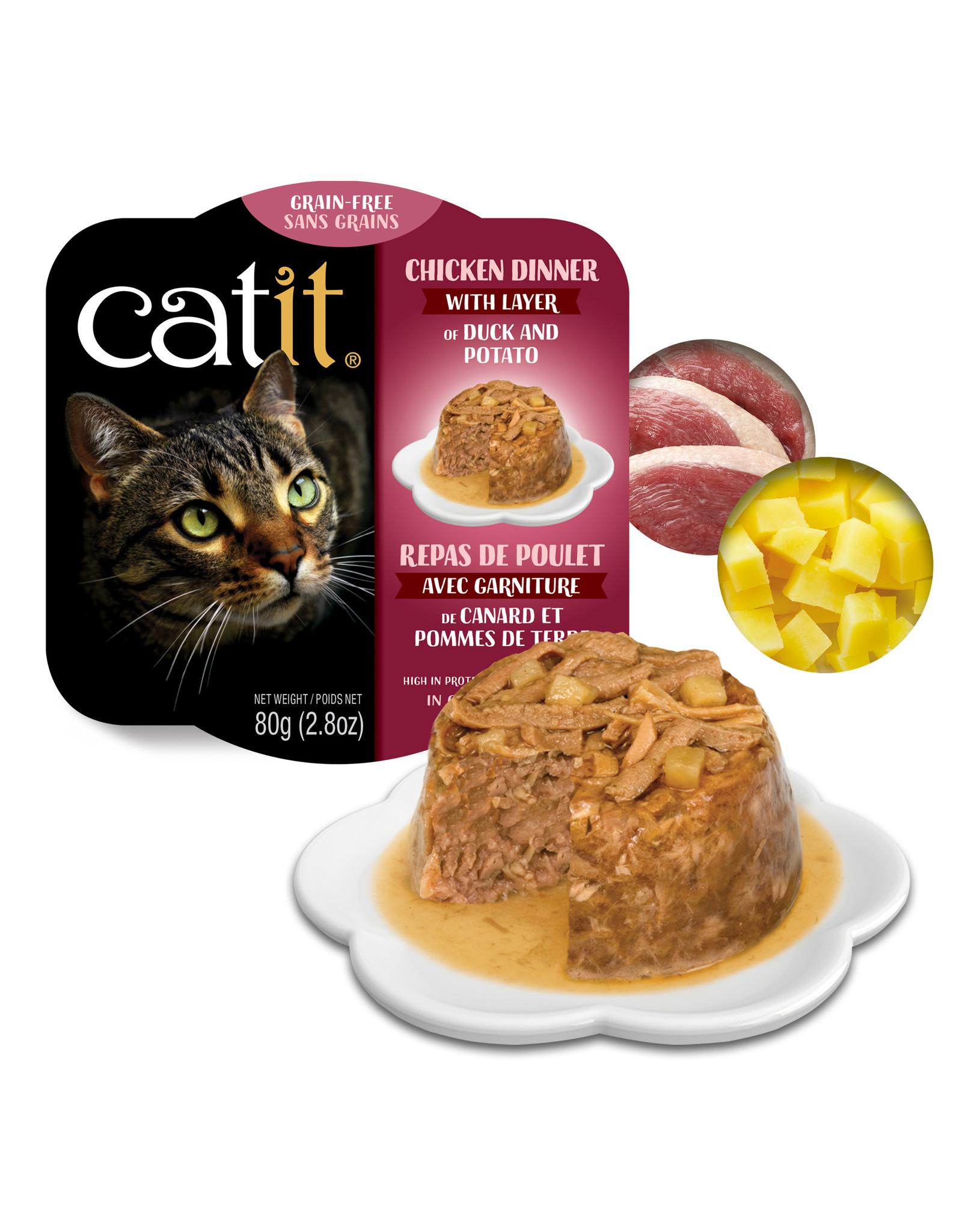 CatIt Chicken Dinner with Duck & Potato 80g