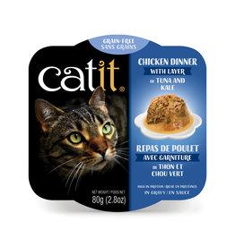 CatIt Chicken Dinner with Tuna & Kale 80g