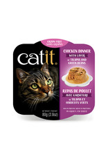 CatIt Chicken Dinner with Tilapia & Green Beans 80g