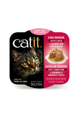CatIt Fish Dinner with Salmon & Green Beans 80g