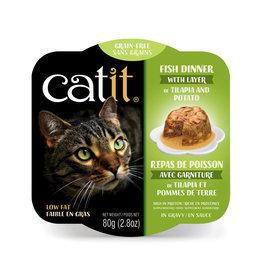 CatIt Fish Dinner with Tilapia & Potato 80g