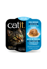 CatIt Fish Dinner with Whitefish & Pumpkin 80g
