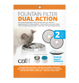 CatIt Fresh & Clear Dual-Action Replacement Filters 2 Pack