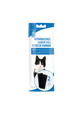 CatIt Hooded Cat Pan Replacement Carbon Pads 2 Pack