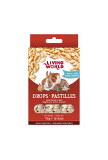 Living World Living World Small Animal Drops, Peanut Flavour, 75 g (2.6 oz)