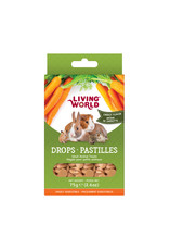 Living World Living World Small Animal Drops, Carrot Flavour, 75 g (2.6 oz)