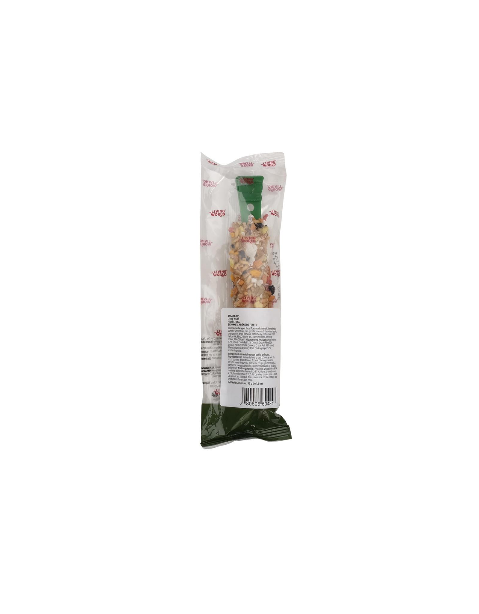 Living World Living World Small Animal Sticks, Fruit Flavour, 45 g (1.5 oz)