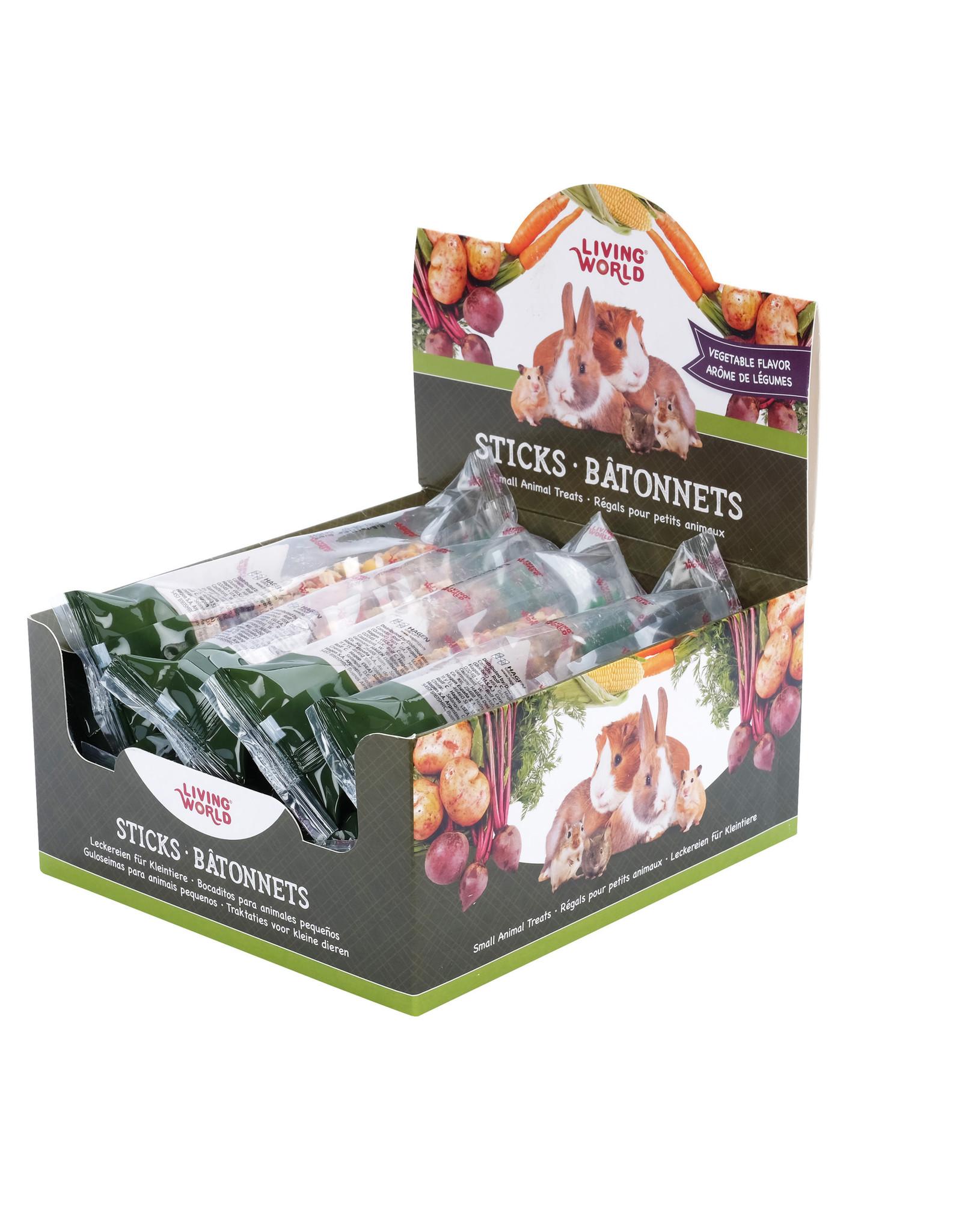 Living World Living World Small Animal Sticks, Vegetable Flavour, 45 g (1.5 oz)