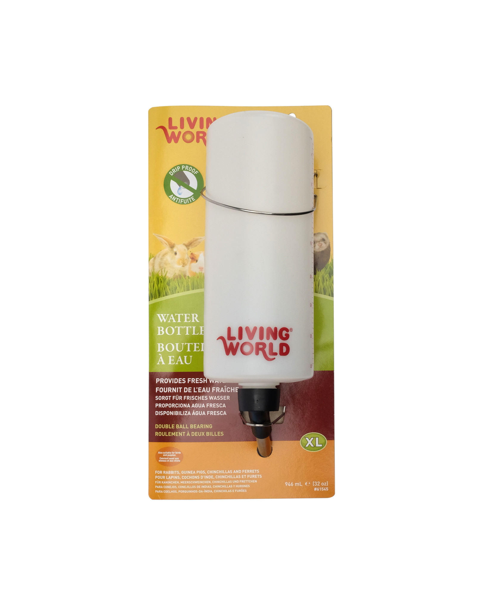 Living World Living World Water Bottle - XLarge - 946 ml (32 oz)