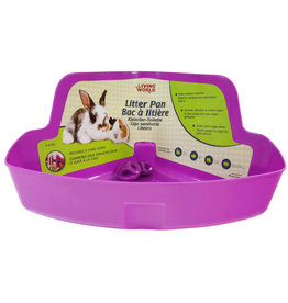 Living World Living World Sm An Litter Box, Purple