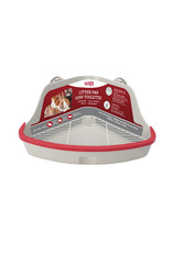 Living World Living World Small Animal Corner Litter Pan - Gray - Large