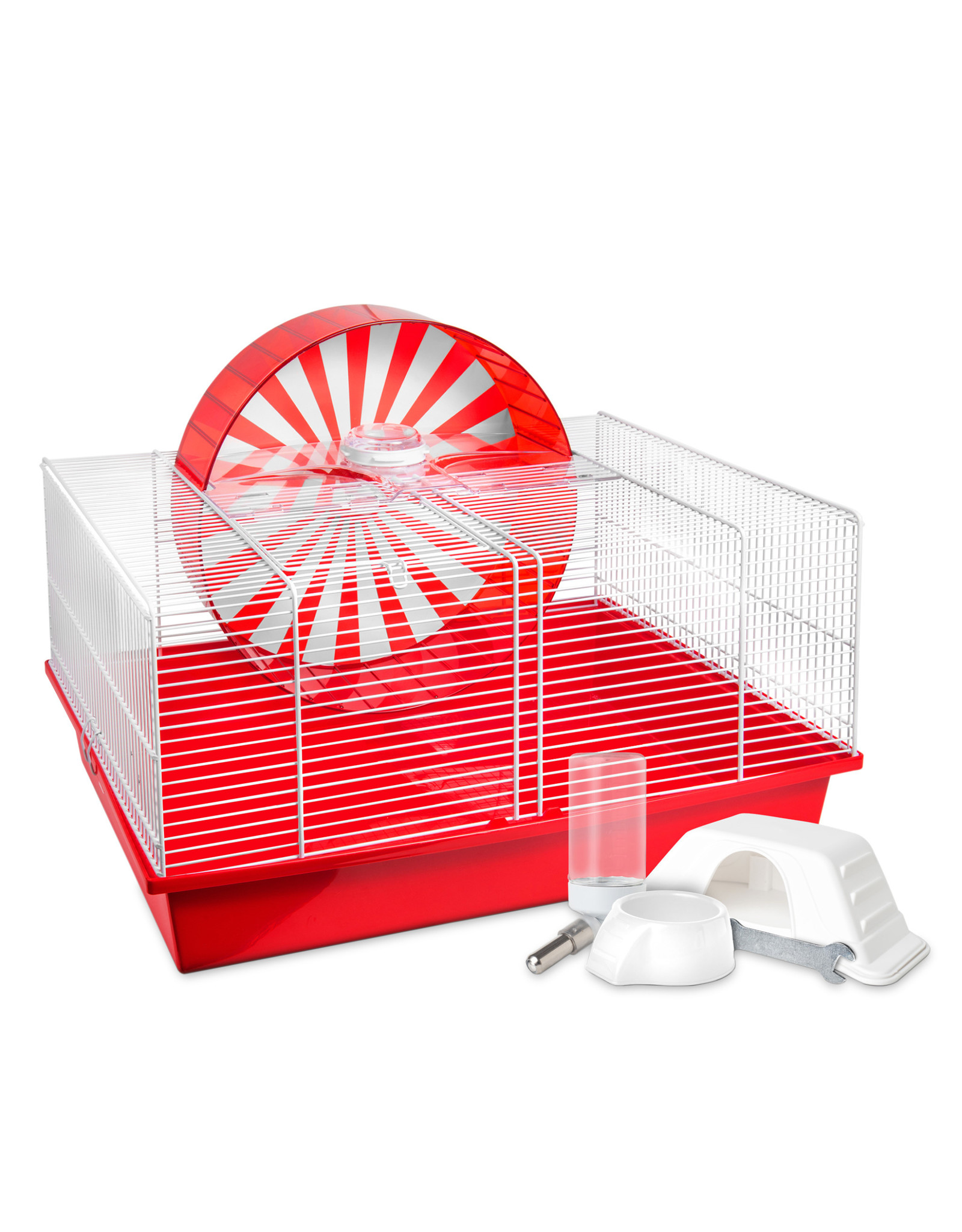 Living World Living World Hamsterval Cage - Red