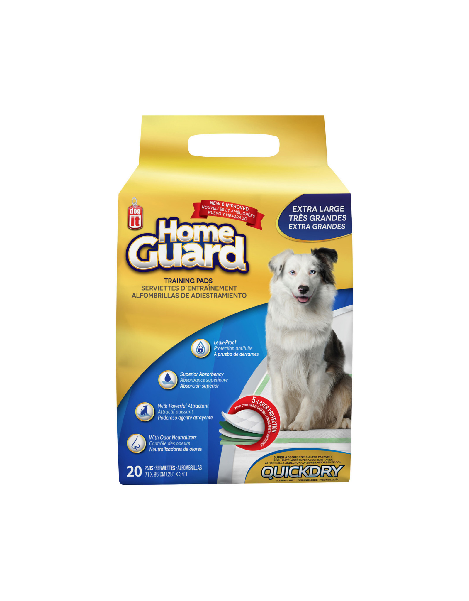 DogIt Training Pads X-Large 20 Pack