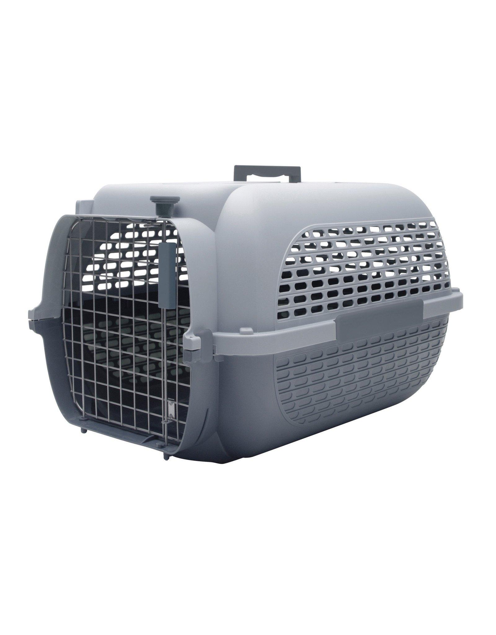 "DogIt Voyageur Dog Carrier Gray/Gray Small 48.3L x 32.6W x 28cmH (19x12.8x11"")"
