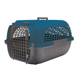 "DogIt Voyageur Dog Carrier Dark Blue/Charcoal Medium 56.5L x 37.6W x 30.8cmH (22x14.8x12"")"