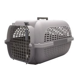 "DogIt Voyageur Dog Carrier Gray/Gray Medium - 56.5L x 37.6W x 30.8cmH (22x14.8x12"")"