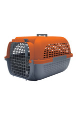 "DogIt Voyageur Dog Carrier Orange/Charcoal Small 48.3L x 32.6W x 28cmH (19x12.8x11"")"