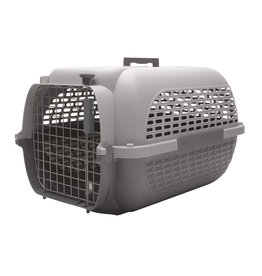 "DogIt Voyageur Dog Carrier Gray/Gray Large 61.9L x 42.6W x 36.9cmH (24.3x16.7x14.5"")"