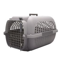 "DogIt Voyageur Dog Carrier Gray/Gray XLarge 68.4L x 47.6W x 43.8cmH (26.9x18.7x17"")"
