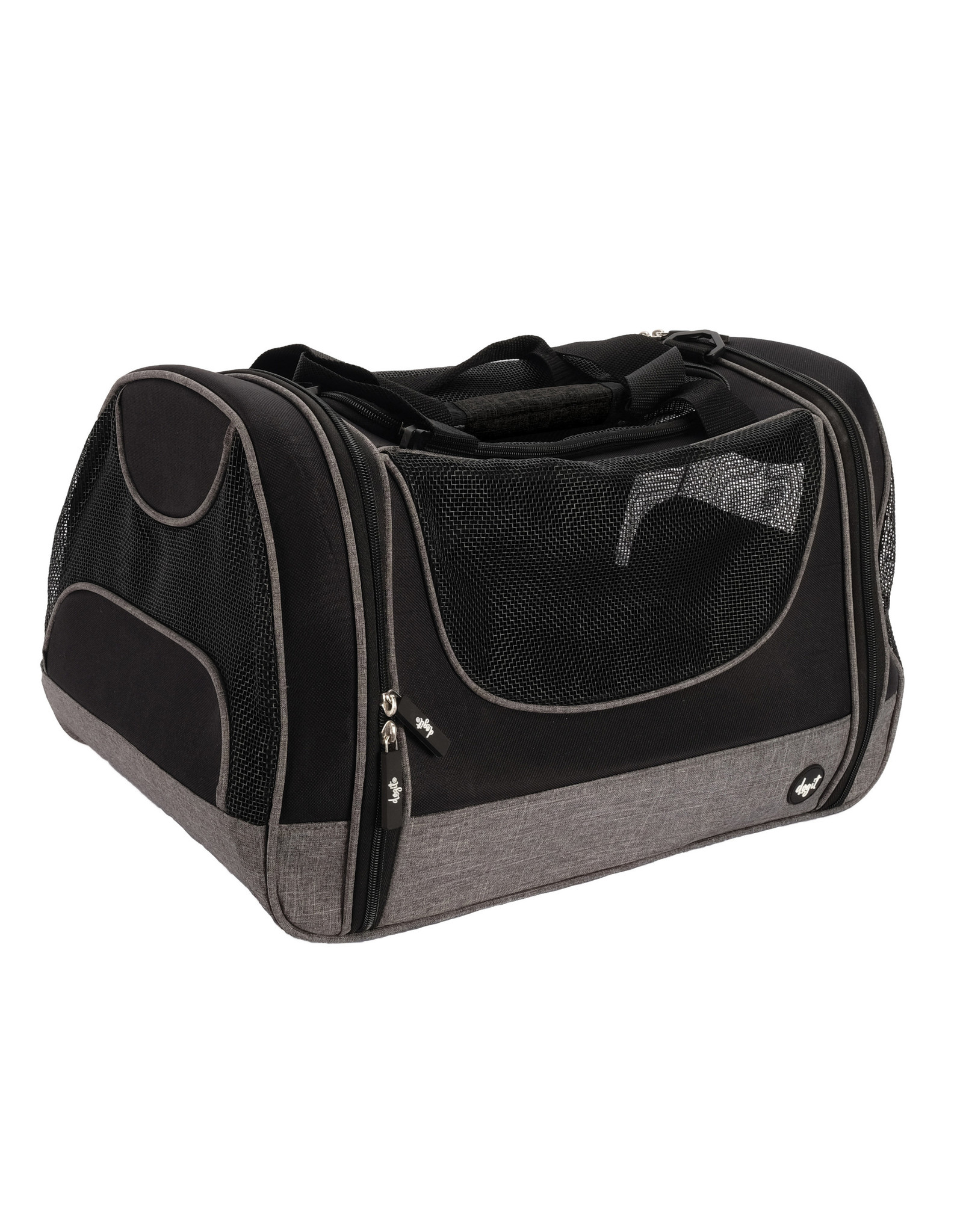 DogIt Soft Carrier Tote Carry Bag Gray