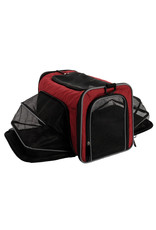 DogIt Soft Carrier Expandable Carry Bag Burgundy
