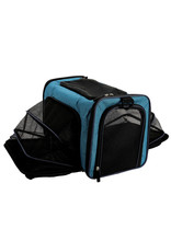 DogIt Soft Carrier Expandable Carry Bag Blue