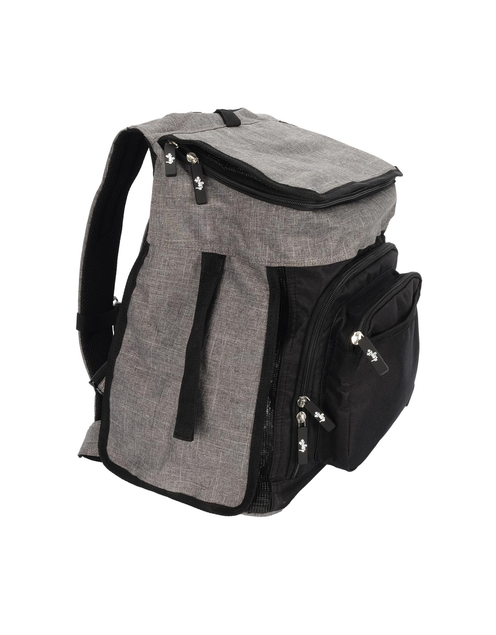 DogIt Soft Carrier Backpack Carrier Gray