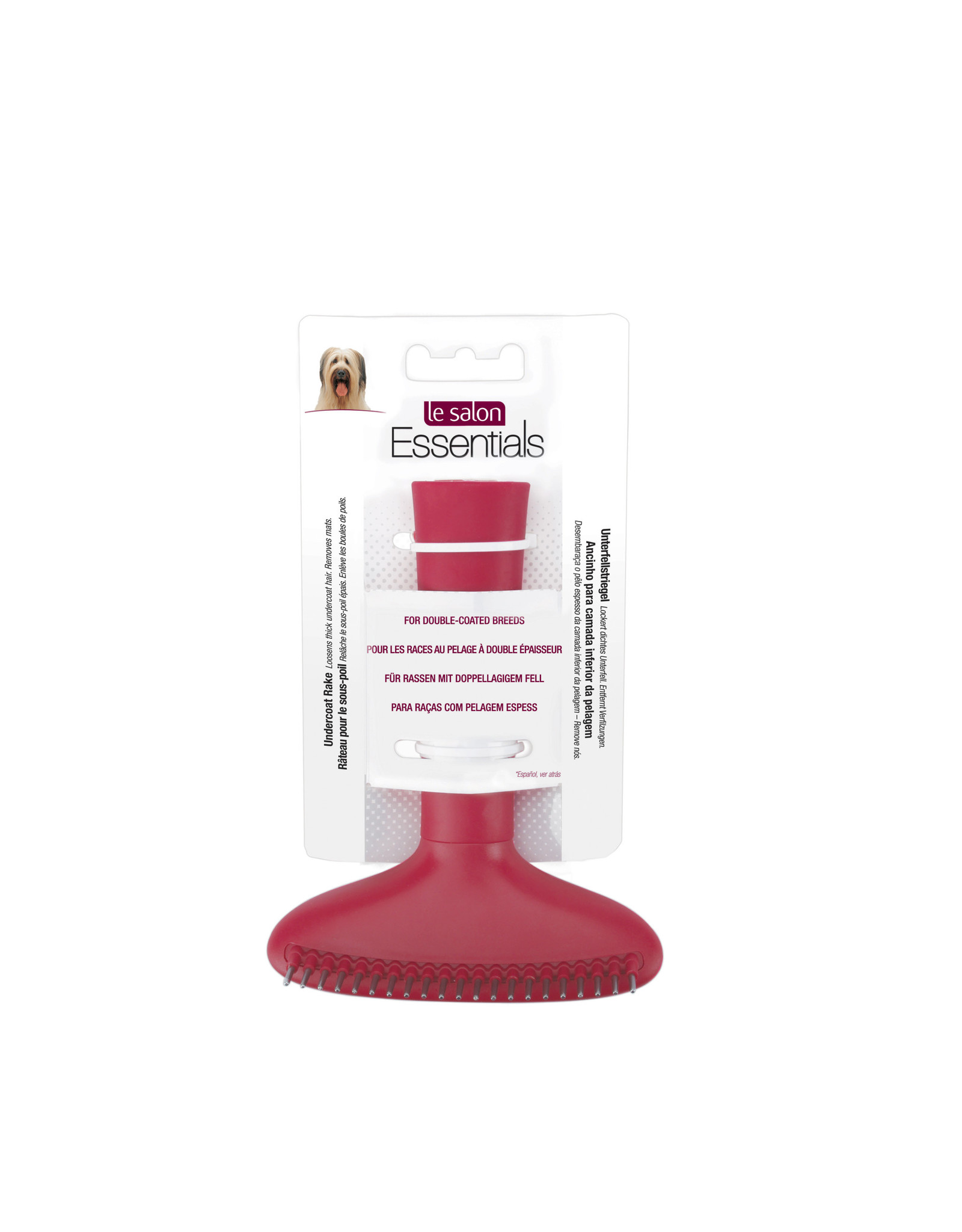 Le Salon LeSalon Essentials Dog Undercoat Rake