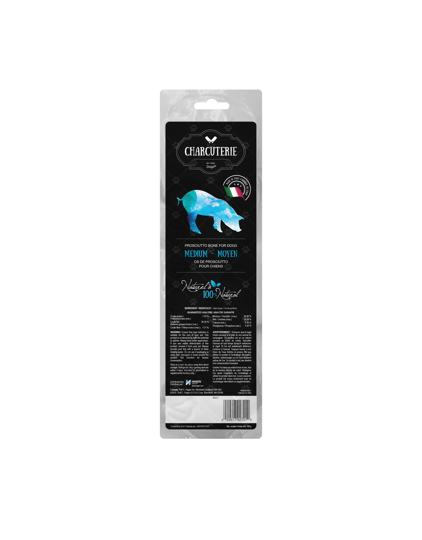 DogIt Prosciutto Bone for Dogs Medium (Tibia) 150g