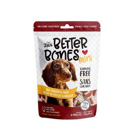 """Zeus Zeus Better Bones, BBQ Chicken Flavour, 3"""", 12 pack"""