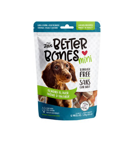 "Zeus Zeus Better Bones, Almond Flavour Chicken Wrapped Bones, 3"", 12 pack"