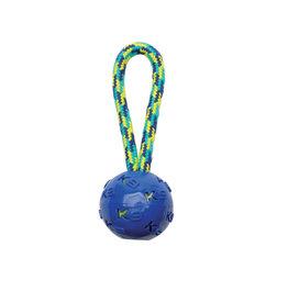 "Zeus K9 Fitness Ball Tug with TPR ball encasing tennis ball - 22.86cm (9"")"